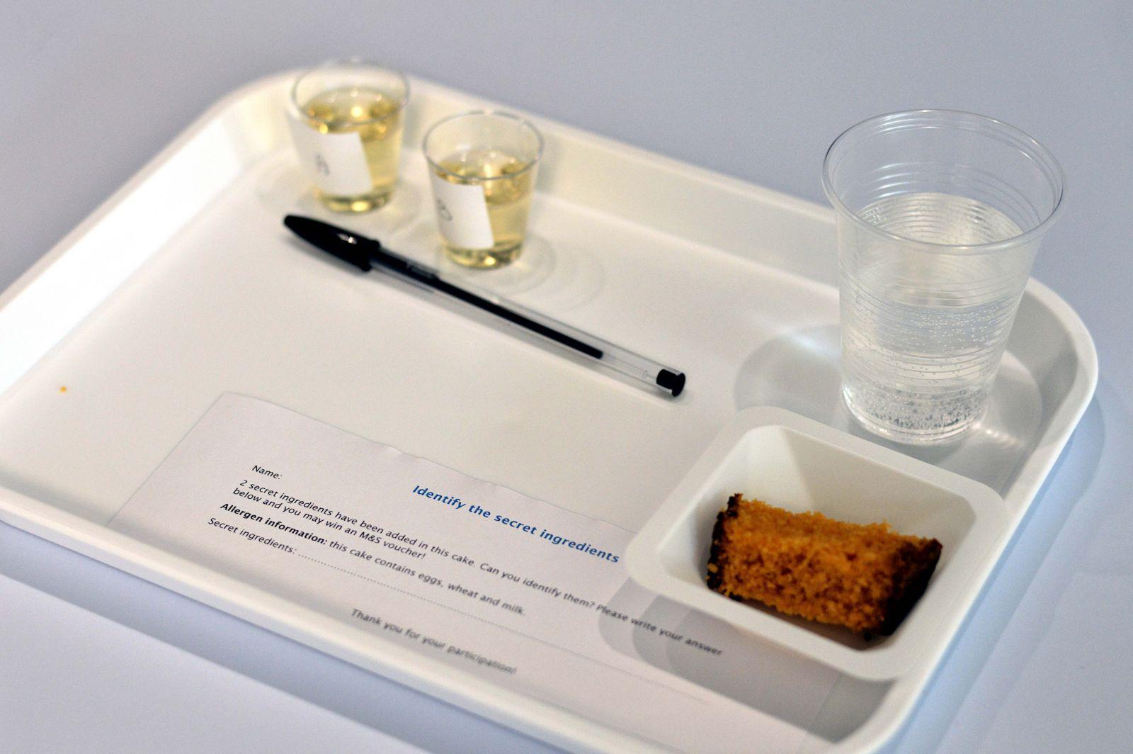 sample tray