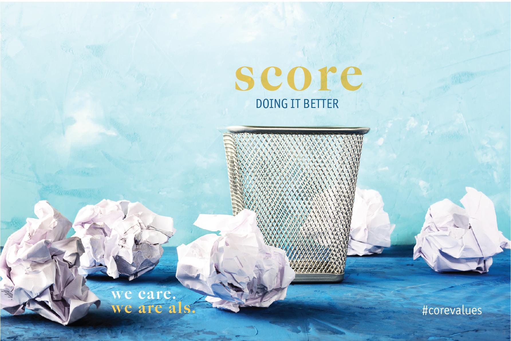 ALS core values score