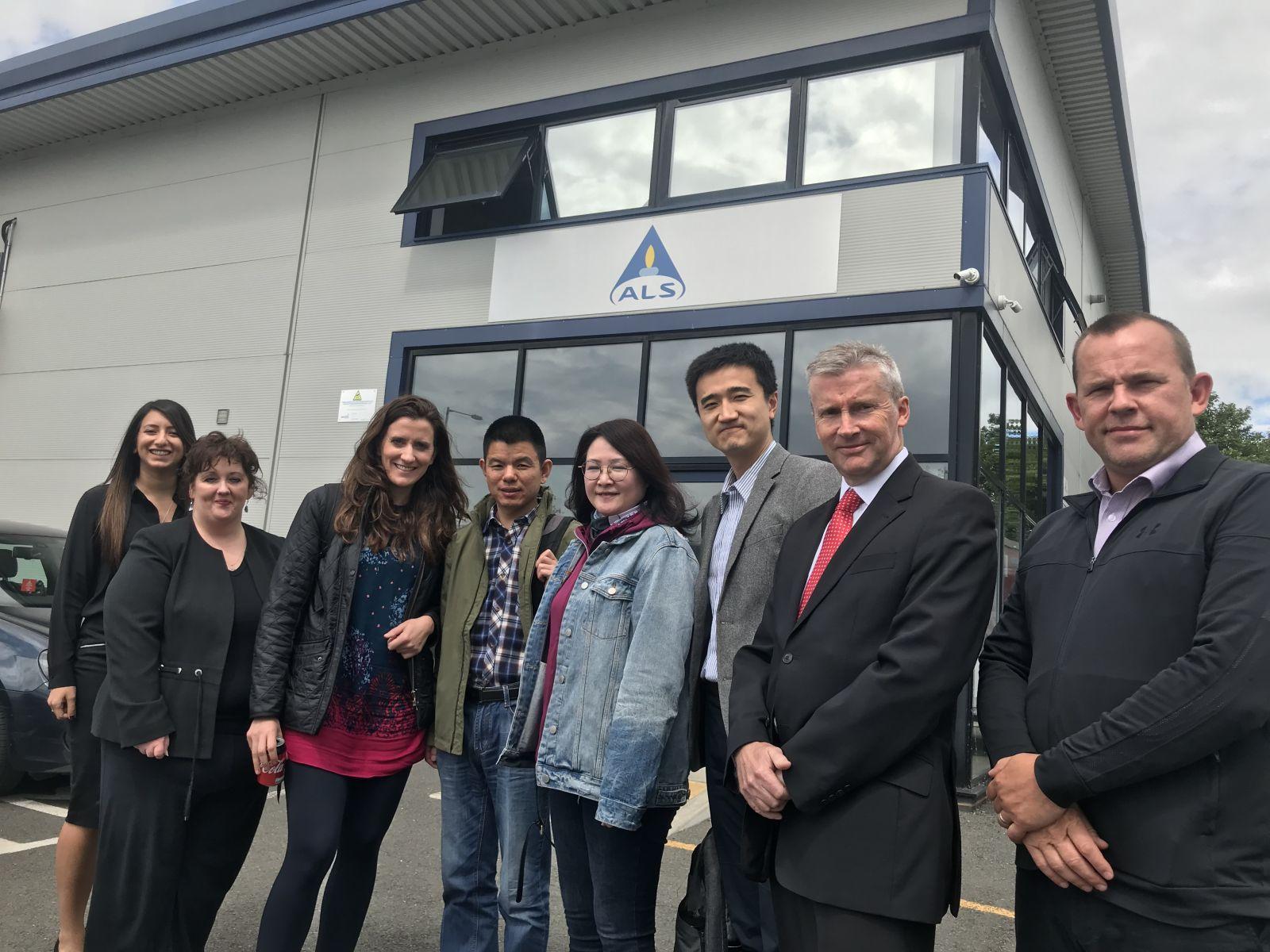 Shrewsbury Chinese trade visit