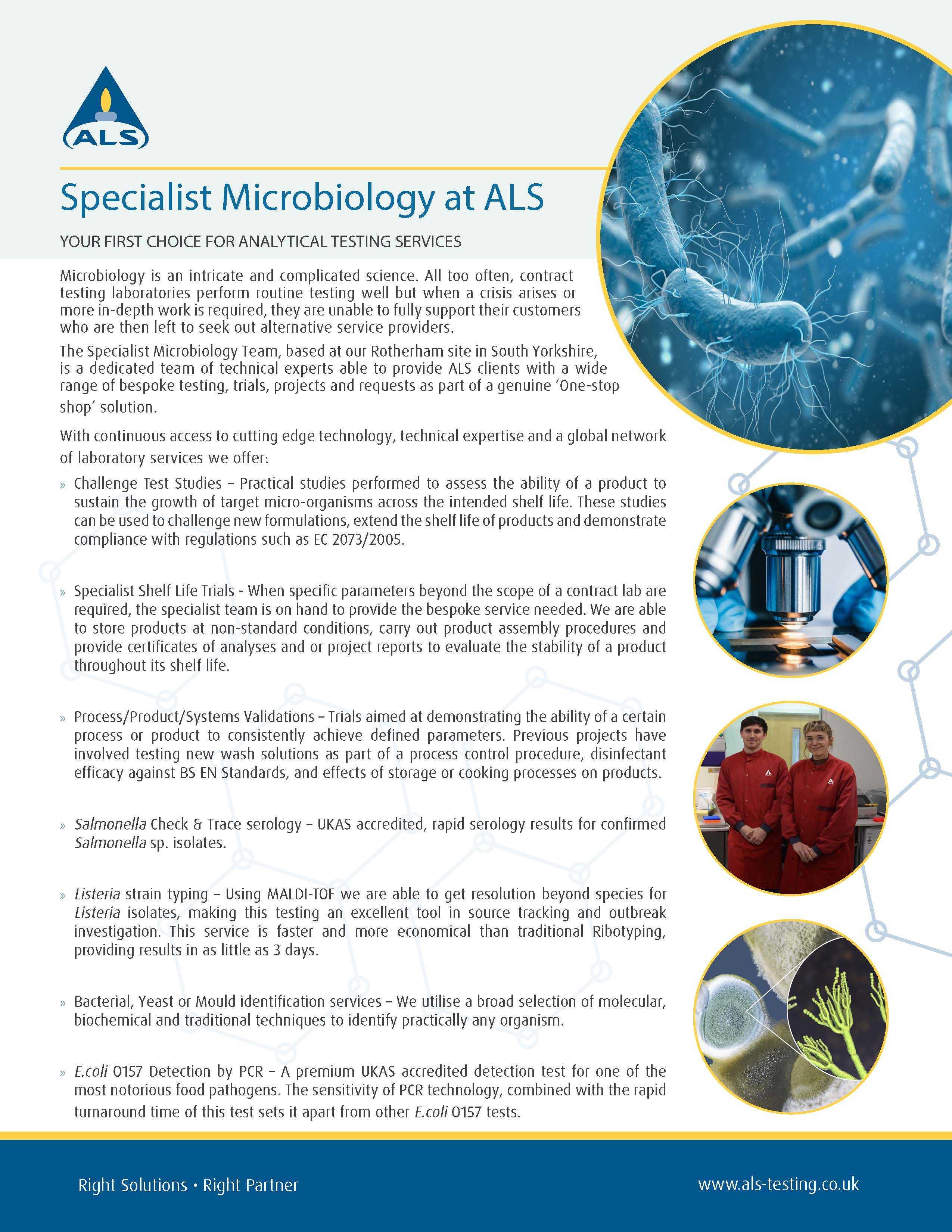 Specialist Micro