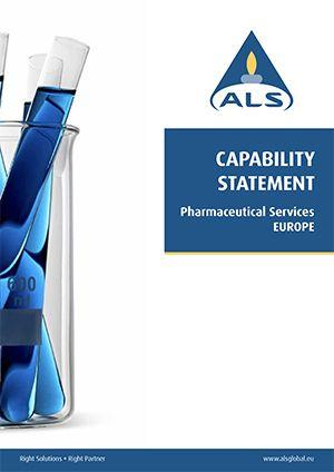 Capability Statement Pharmaceutical Services